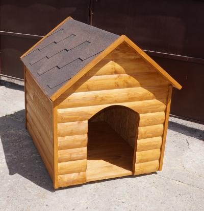 Будка (треугольная крыша)