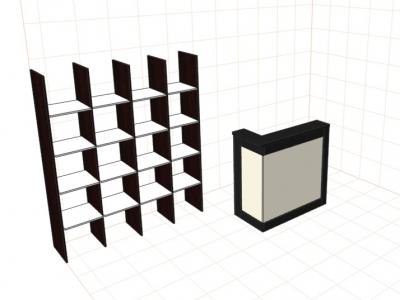 Стеллаж-квадраты